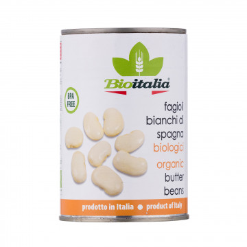 BioItalia Organic Butter Beans