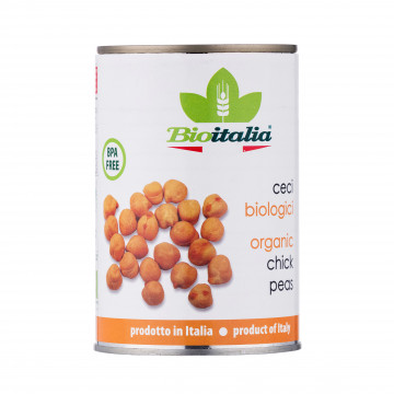 BioItalia Organic Chick Peas