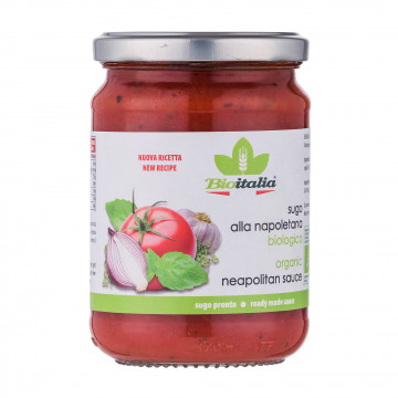BioItalia有機拿波里意大利粉醬