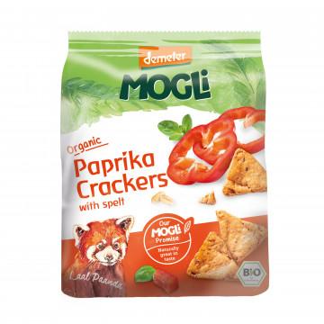 MOGLi Organic Paprika Crackers