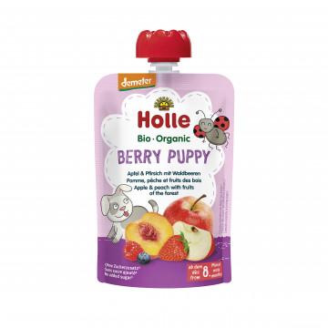 Holle有機唧唧裝蘋果蜜桃伴森林漿果蓉