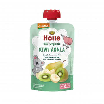 Holle有機唧唧裝洋梨香蕉伴奇異果蓉