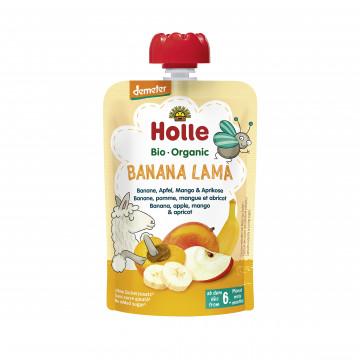 Holle有機唧唧裝香蕉蘋果芒果伴杏脯肉