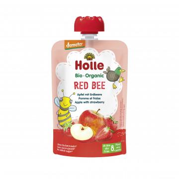 Holle有機唧唧裝蘋果士多啤梨蓉