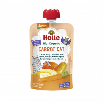 Holle Organic Carrot Cat Pouch