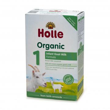 Holle有機1號嬰兒山羊奶粉配方