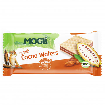 MOGLi Organic Chocolate Wafers