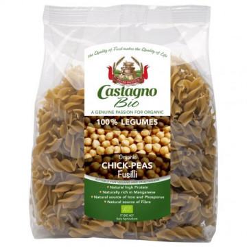 Castagno有機鷹嘴豆螺絲意大利麵 (100% 豆類)