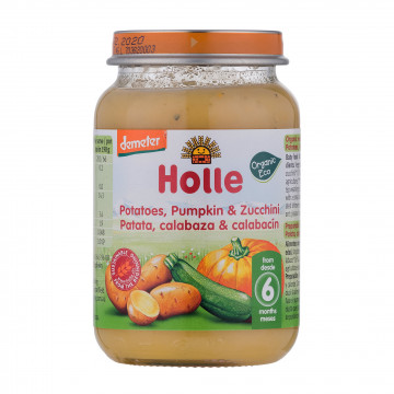 Holle Organic Zucchini &...
