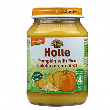 Holle Organic Pumpkin with...